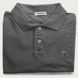 Image of ORGANIC PIGEON POLO (GREY)