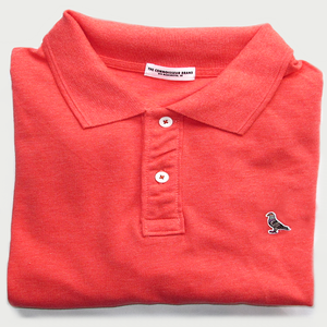 Image of ORGANIC PIGEON POLO [RED]