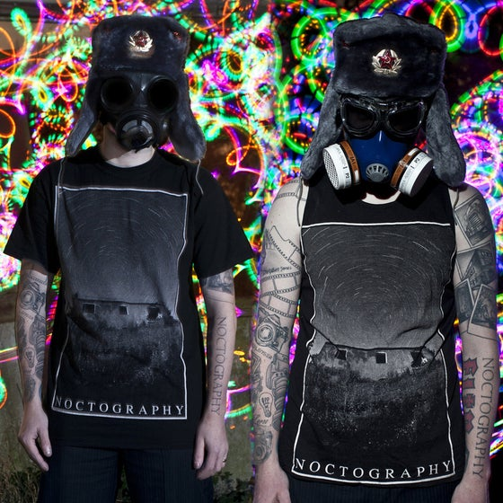 Image of Noctography - Abandoned House Star Trail - T-Shirts and Vests