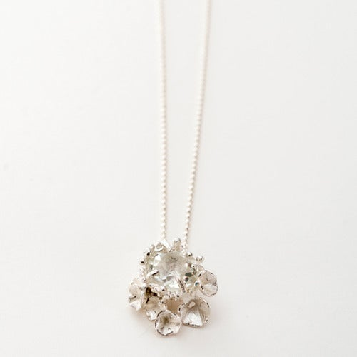 Image of Encrusted Blossom Pendant..