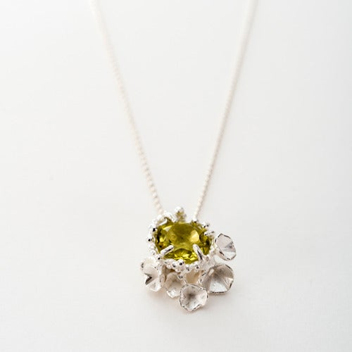 Image of Encrusted Blossom Pendant