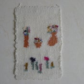 Image of arranging flowers (wall hanging 8)