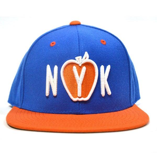 Image of NYK BLUE & ORANGE SNAPBACK