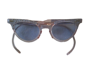 Image of Children's Sparkly Cat Eye Sunglasses (1950s)