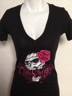 Image of Ladies - CS Skull Rose