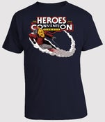 Image of HEROESCON 2013 T-SHIRT :: ROCKETEER BY LEE WEEKS :: NAVY