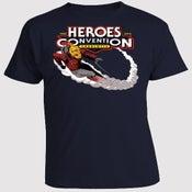 Image of HEROESCON 2013 T-SHIRT :: ROCKETEER BY LEE WEEKS :: NAVY