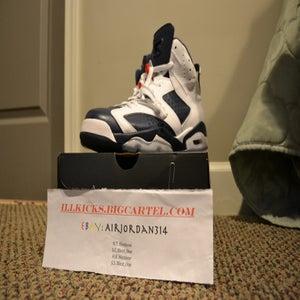 "Image of VNDS Air Jordan Retro VI ""Olympic"" Sz 10.5"