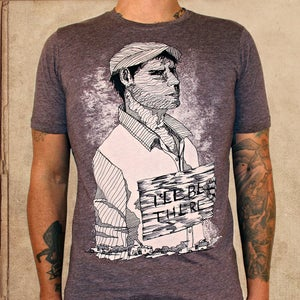 Image of Grapes of Wrath - coffee & tri-black(xs) - discharge inks