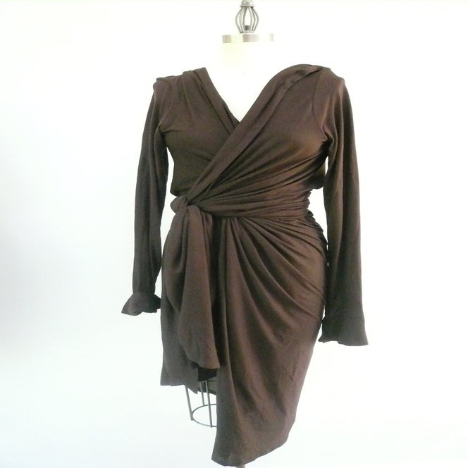 Image of MARIA SEVERYNA - Chocolate CAPRICE Dress
