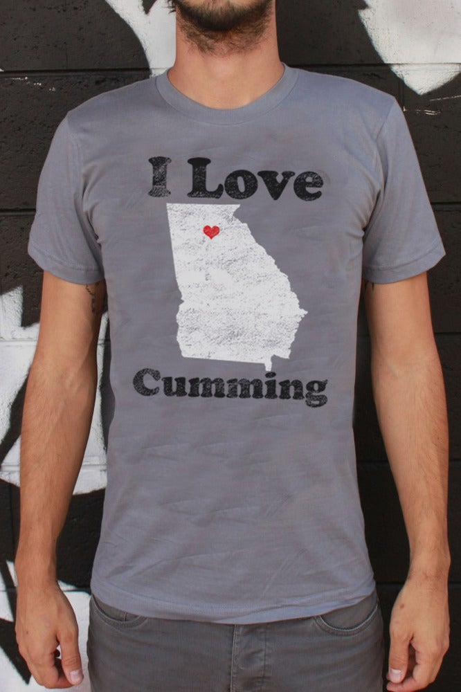 Image of I Love Cumming - Men's Tee