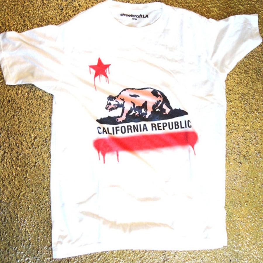 Image of Cali Bear Tee By Bobby Z Rodriguez