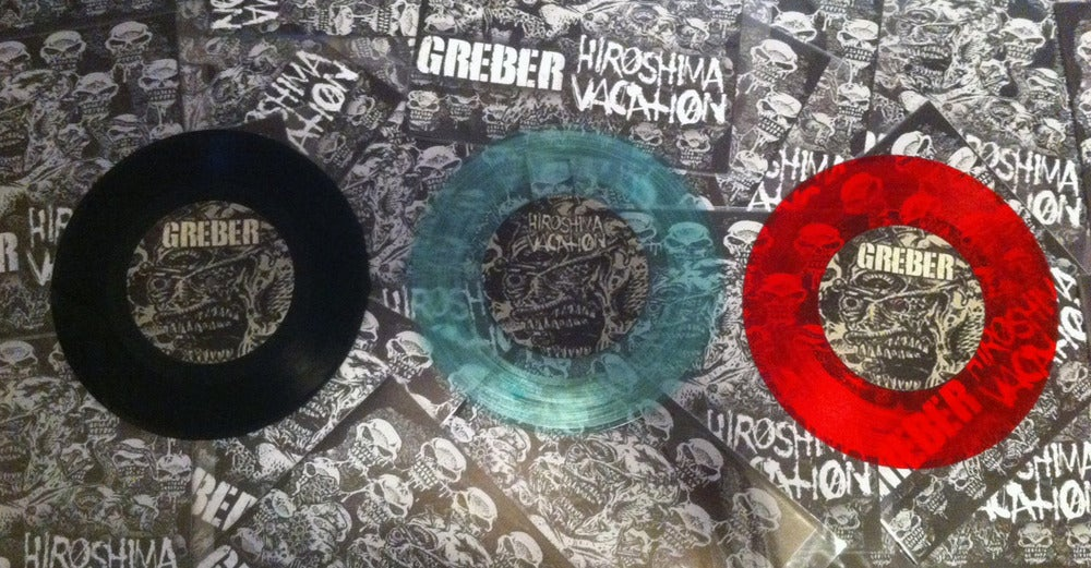 "Image of Split 7"" with Hiroshima Vacation"