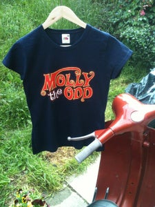 Image of Blue/ Girly Molly The Odd T-shirt