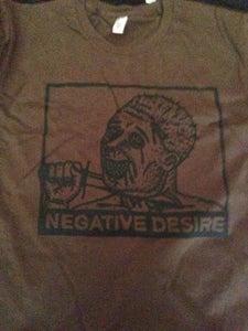 Image of Negative Desire - Brown Tee