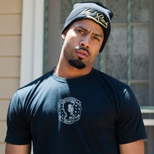 Image of Limited Edition Black/Gold Mad Rude Beanie