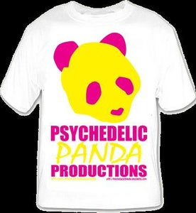Image of Psychedelic Panda Shirt - Presale - Save $3.00!