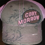 Image of Pink Vintage Cory Morrow Hat