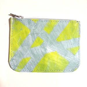Image of Savi Zip Pouch - Ice Blue