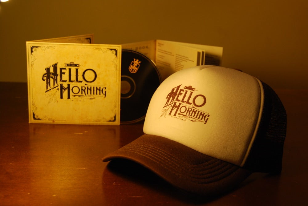 Image of The Hello Morning (Album) CD + Trucker Cap