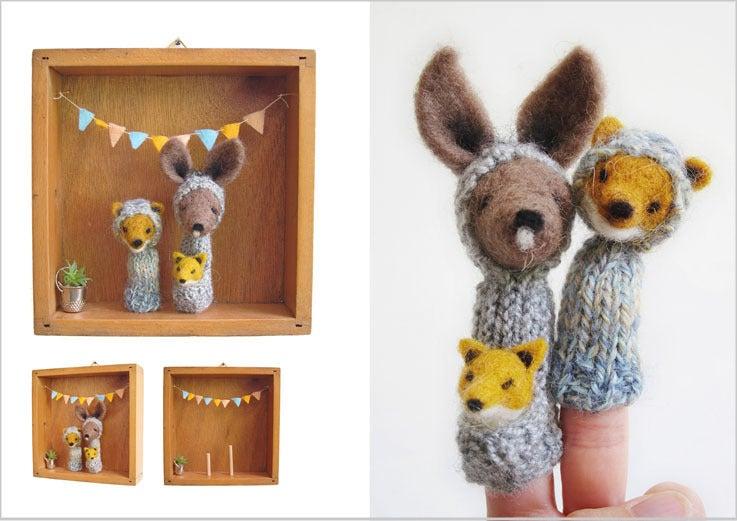 Image of Kangaroo Fox Family Box