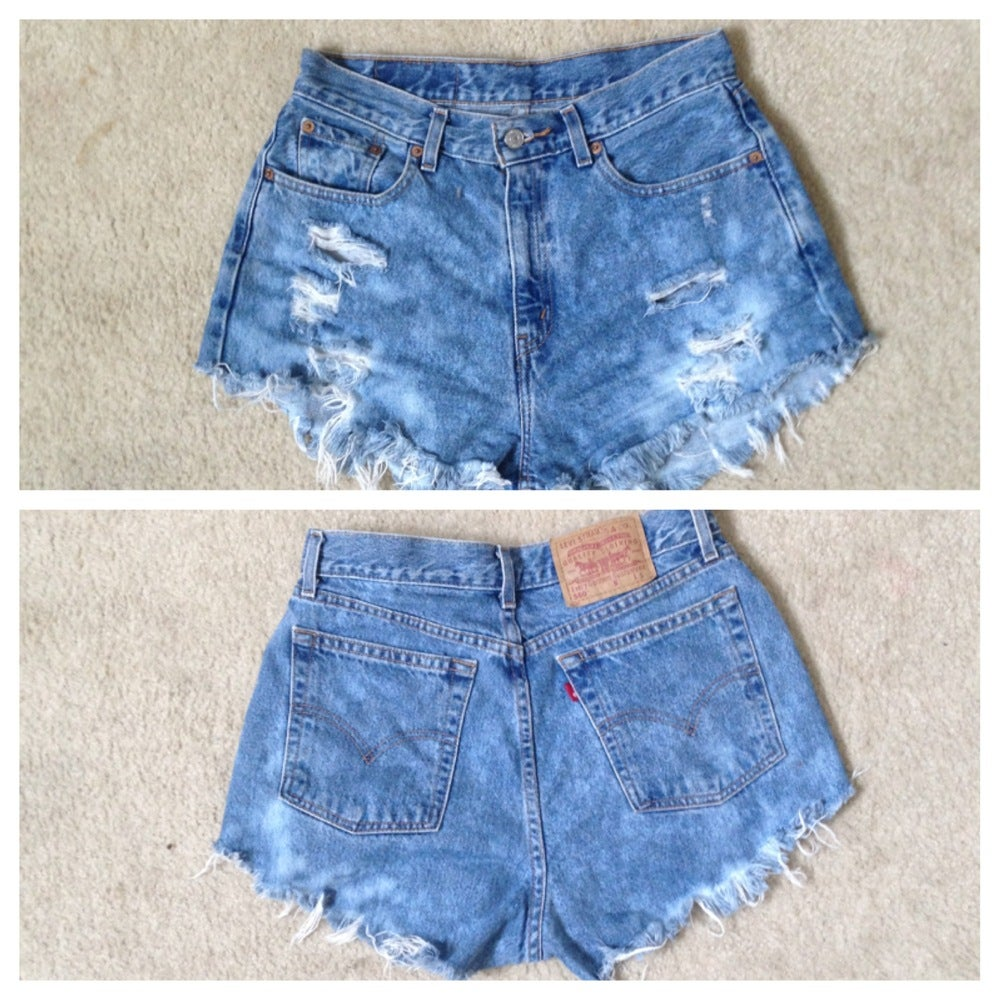 Image of ripped and destroyed shorts