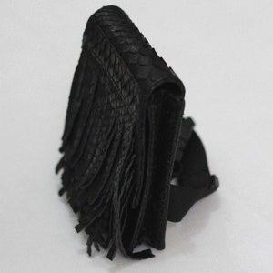 Image of Burlesque Fringe Thigh Bag