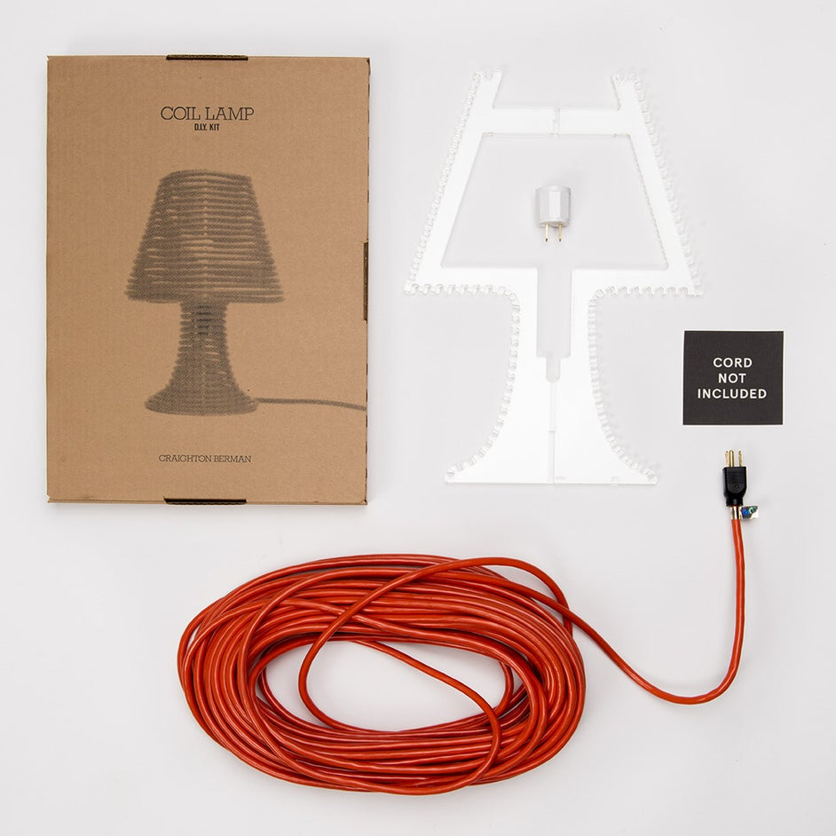 Image of Coil Lamp DIY Kit