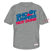Image of Shoot Jumpers. Not Guns. x Mitchell & Ness (Grey)