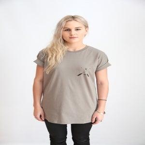 Image of Traders T-shirt- Warm Grey