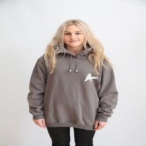Image of Staple Hood- Grey