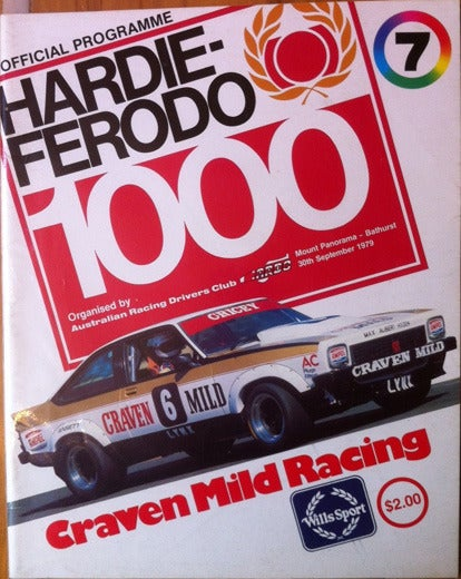 Image of 1979 Hardie Ferodo 1000, Bathurst Programme