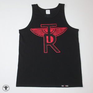 Image of BLACK TR Wings TANK TOP SHIRT