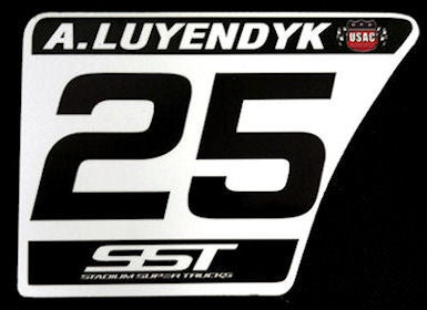 Image of #25 Arie Luyendyk, Jr Number Plate