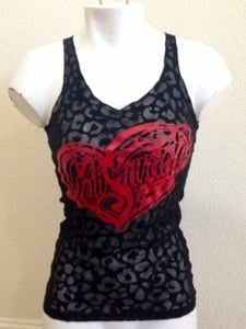 Image of Ladies - CS Heart Burn out tank