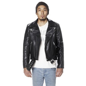 Image of MENS STRANGER MOTORCYCLE JACKET