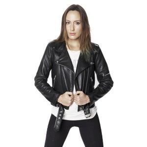 Image of WOMENS STRANGER MOTORCYCLE JACKET