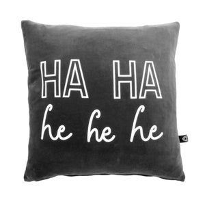 Image of LornaLove cushion : Ha Ha