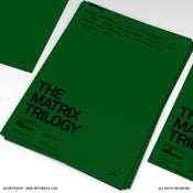 Image of The Matrix Trilogy Poster With Brands