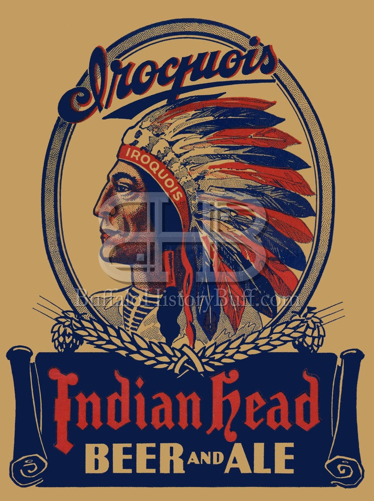 Buffalo History Buff Iroquois Beverages Indian Head