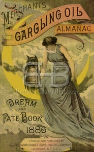 Image of Merchant's Gargling Oil - Woman on the Moon