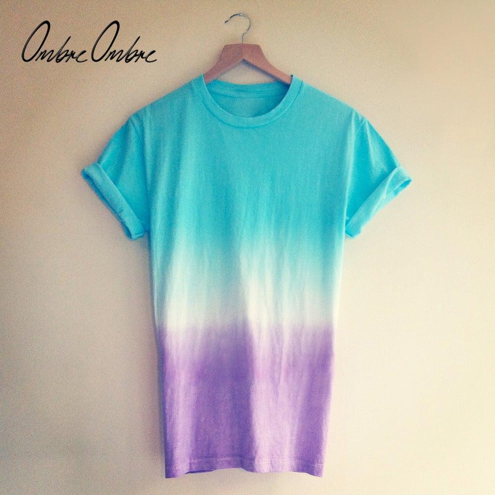 Image of Blue Purple T-shirt