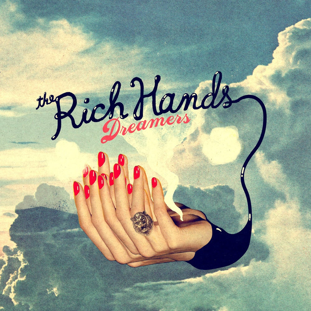 """Image of FTN-007 - The Rich Hands """"Dreamers"""" LP"""