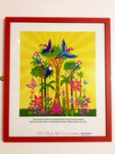 Image of NEW RED A2 signed and framed 'Amazon Rainforest' Print.