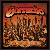 "Image of Borracho - Mob Gathering 7"" (Orange/Black swirl)"