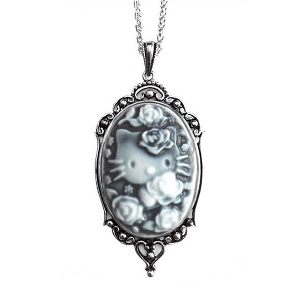 Image of Hello Kitty Cameo Necklace