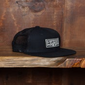 Image of TAB TRUCKER SNAPBACK- BLACK