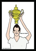 Image of Andy murray the champion of our hearts