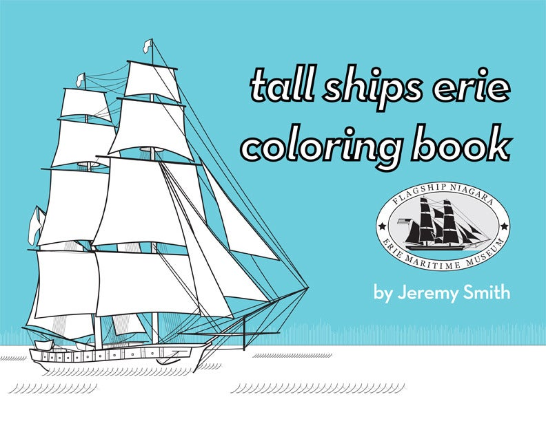 Image of Tall Ships Erie Coloring Book