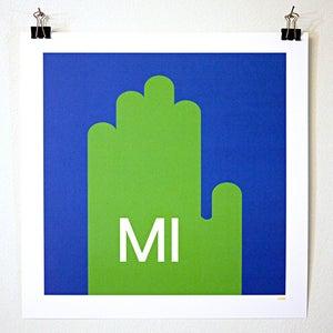 Image of Michigan Hand